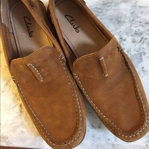 Clarks men's loafers 8.5